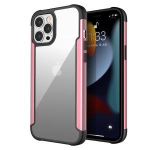 Olixar Novashield iPhone 13 Pro Max Protective Bumper Case - Rose Gold