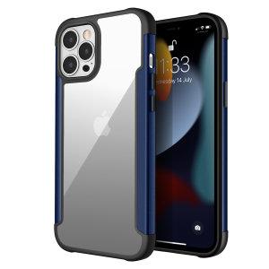 Olixar Novashield iPhone 13 Pro Max Protective Bumper Case - Blue
