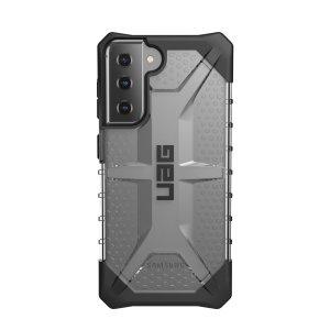 UAG Plasma Samsung Galaxy S21 FE Rugged Case - Ice