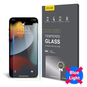 Olixar iPhone 13 Pro Max Anti-Blue Light Glass Screen Protector
