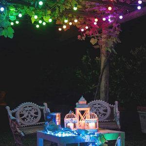 Twinkly Smart RGB 20 LED Multicolour Festoon Lights
