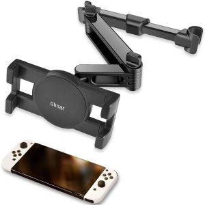 Olixar Nintendo Switch OLED Car Headrest Holder and Mount
