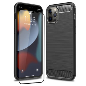 Olixar Sentinel iPhone 13 Pro Case and Glass Screen Protector