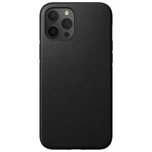 Nomad iPhone 13 Pro MagSafe Horween Leather Modern Case - Black