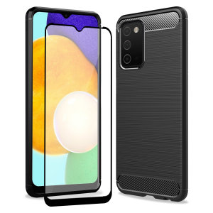 Olixar Sentinel Samsung Galaxy A03S Case And Glass Screen Protector