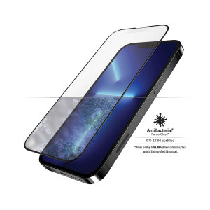 PanzerGlass iPhone 13 Pro Max Anti-Glare Screen Protector - Black