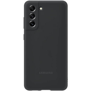 Official Samsung Galaxy S21 FE Soft Silicone Case - Dark Grey