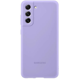 Official Samsung Galaxy S21 FE Soft Silicone Case - Lavender