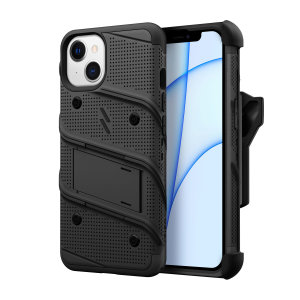Zizo Bolt iPhone 13 Protective Case & Screen Protector - Black