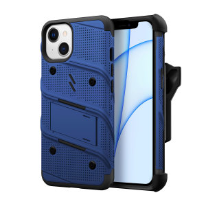 Zizo Bolt iPhone 13 Protective Case & Screen Protector - Blue