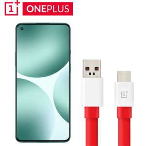 Official OnePlus Nord 2 Warp Charge USB-C Charging Cable - 1m - Red