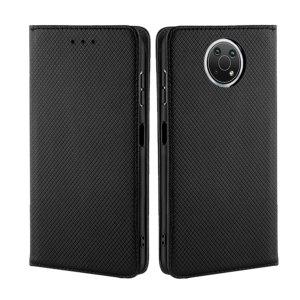 Olixar Leather-Style Nokia G10 Wallet Stand Case - Black