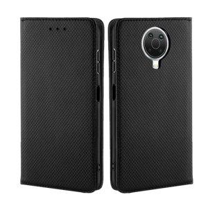 Olixar Leather-Style Nokia G20 Wallet Stand Case - Black