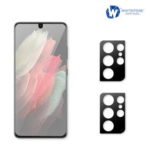 Whitestone E-Jig Samsung Galaxy S21 Ultra Screen & Camera Protector