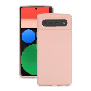 Olixar Google Pixel 6 Soft Silicone Case - Pink