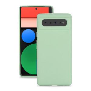 Olixar Google Pixel 6 Soft Silicone Case - Green
