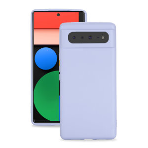 Olixar Google Pixel 6 Soft Silicone Case - Purple