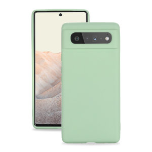 Olixar Soft Silicone Google Pixel 6 Pro Case - Green