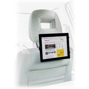 Kit Universal Tablet Car Headrest Mount - Black