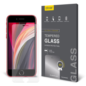 Olixar iPhone SE 2020 Tempered Glass Screen Protector