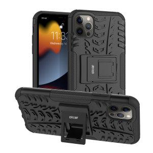 Olixar ArmourDillo iPhone 13 Pro Max Protective Case - Graphite