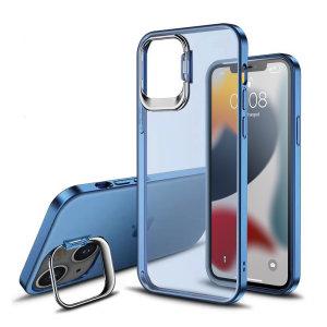 Olixar iPhone 13 Camera Stand Case - Blue