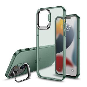 Olixar iPhone 13 Camera Stand Case - Green