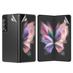 Olixar Samsung Galaxy Z Fold 3 Screen & Camera Protectors - 2 Pack