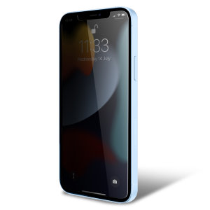 Olixar iPhone 13 Pro Max Privacy Tempered Glass Screen Protector