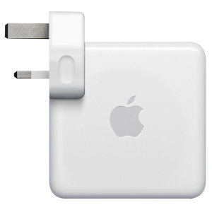 Official Apple MacBook 96W USB-C Fast Charging Adapter UK Plug - White