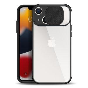 Olixar iPhone 13 Camera Privacy Cover Case - Black