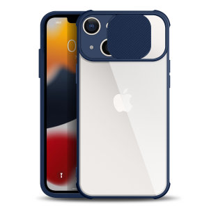 Olixar iPhone 13 Camera Privacy Cover Case - Blue