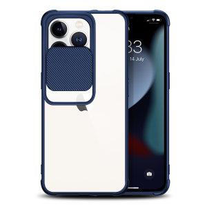 Olixar iPhone 13 Pro Camera Privacy Cover Case - Blue