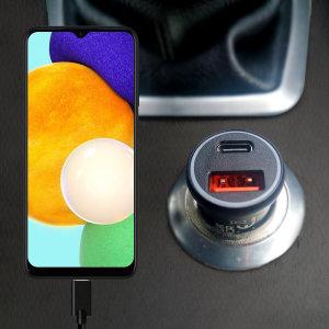 Olixar Samsung Galaxy A03s 36W Dual Car Charger & 1.5m USB-C Cable