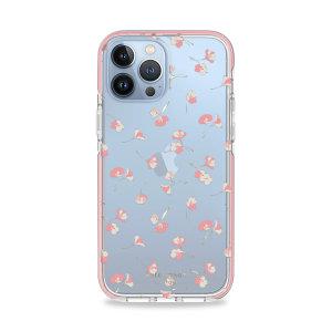 Kate Spade New York iPhone 13 Pro Hardshell Case - Falling Poppies