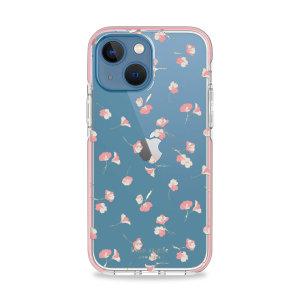 Kate Spade New York iPhone 13 mini Hardshell Case - Falling Poppies