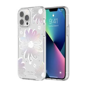 Kate Spade New York iPhone 13 Pro Max Hardshell Case- Iridescent Daisy