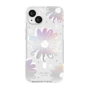 Kate Spade New York iPhone 13 Hardshell Case - Iridescent Daisy