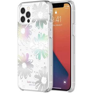 Kate Spade New York iPhone 13 Pro Hardshell Case - Iridescent Daisy