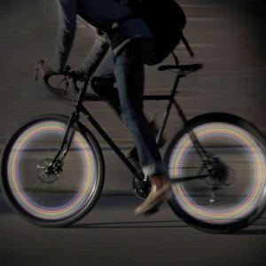 Paladone Flashing LED Bike Wheel Light - Multicolour
