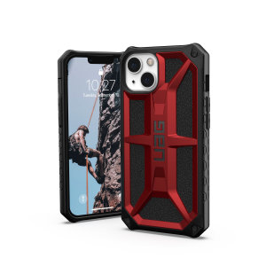 UAG Monarch iPhone 13 Tough Case - Crimson