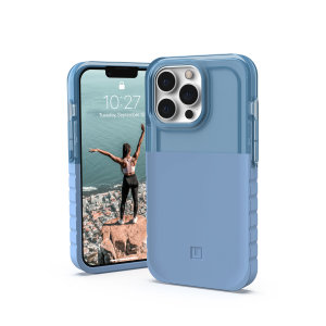[U] By UAG iPhone 13 Pro Protective Dip Case - Cerulean