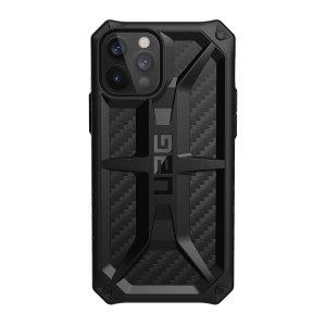 UAG Monarch iPhone 13 Pro Tough Case - Carbon Fibre
