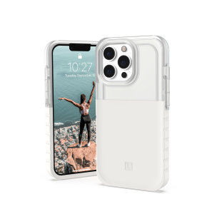 [U] By UAG iPhone 13 Pro Max Protective Dip Case - Marshmallow
