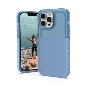 [U] By UAG iPhone 13 Pro Max Protective Dip Case - Cerulean