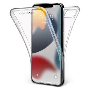 Olixar FlexiCover Full Body iPhone 13 Gel Case - Clear