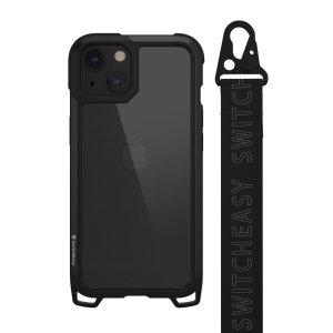 SwitchEasy Odyssey iPhone 13 Case With Inbuilt Strap - Black