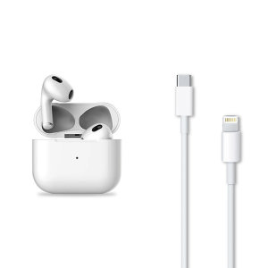 Official Apple AirPods 3 USB-C to Lightning Charging Cable 1m - White