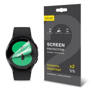 Olixar Samsung Galaxy Watch 4 TPU Screen Protectors - 44mm