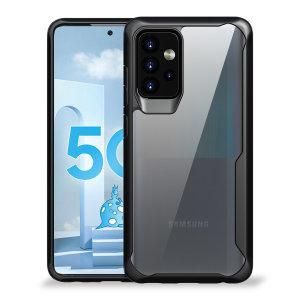 Olixar NovaShield Samsung Galaxy A52s Bumper Case - Black